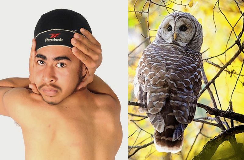 Pria Ini Bisa Memutar Kepalanya 180 Derajat Seperti Burung Hantu
