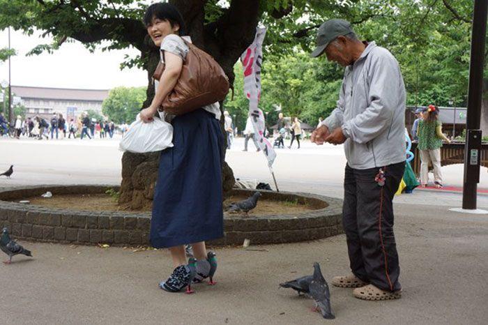 Sepatu Burung Merpati (Boredpanda.com)