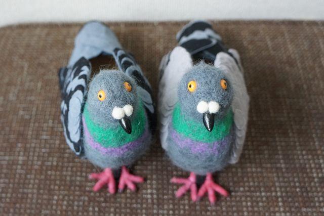 Sepatu burung Merpati terlihat lucu (Boredpanda.com)