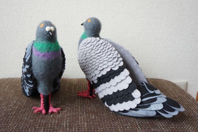 Sepatu burung Merpati yang sudah jadi (Boredpanda.com)