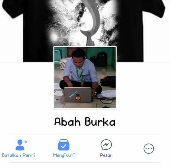 Profil Abah Burka di Facebook (facebook.com)