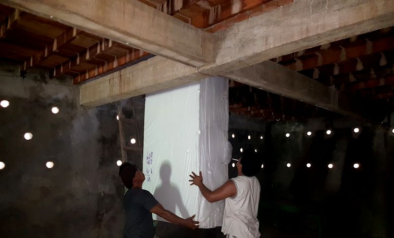 Bentuk dalam rumah Walet agar Walet betah dan cepat buat sarang (tokowaletmakassar.blogspot.com)