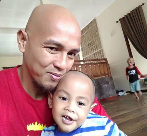 Om Reza dan putranya (omkicau.com)