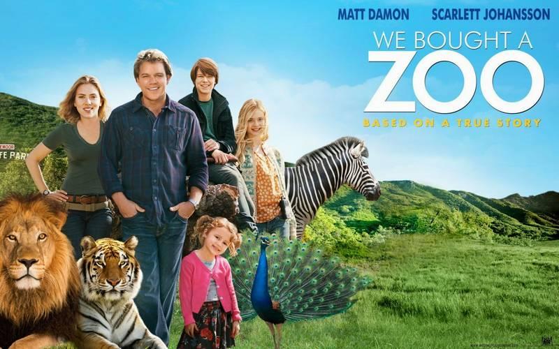 Scarlett Johansson di Film We Bought a Zoo (charllottie.blogspot.com)