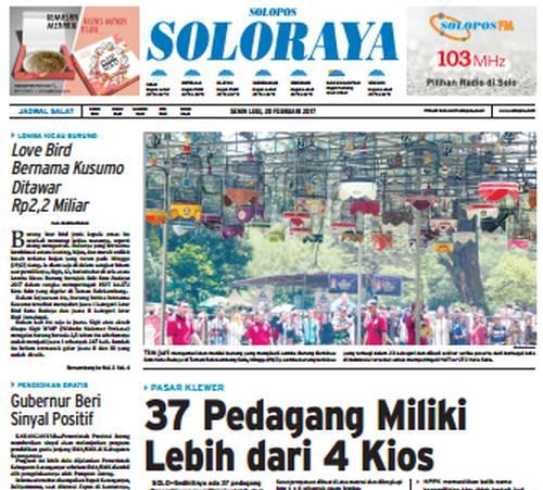 Koran Soloraya Lovebird Bernama Kusumo Ditawar Rp 2,2 Miliar (jatengpos.com)