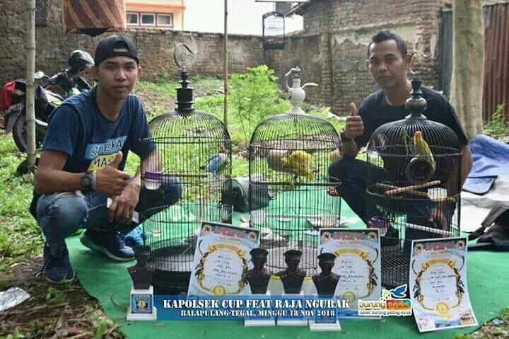 Bukti Terapi Bambu Gila Berhasil di Kapolsek Cup feat Raja Ngurak Tegal (facebook.com-Ali)