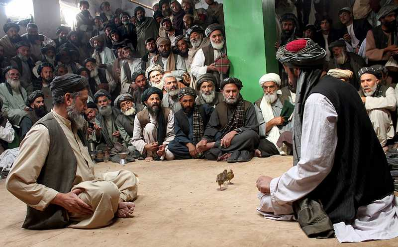 Pertandingan Burung Puyuh di Afghanistan (imarstore.blogspot.com)