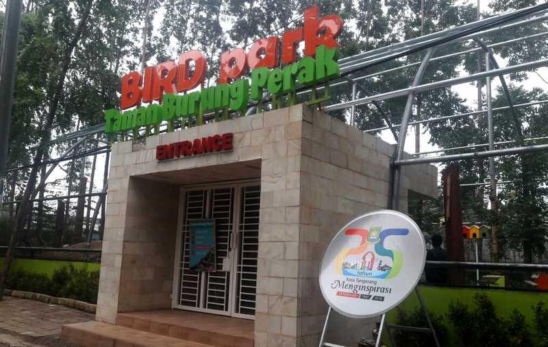 Taman Burung Perak Tangerang (tangerangtribun.com)