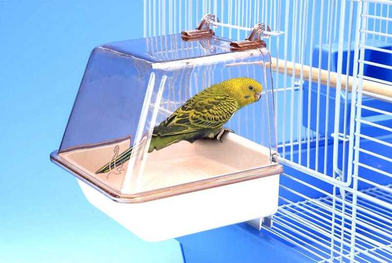 Aksesoris Sangkar Keramba Mandi Burung (spring-bird.com)