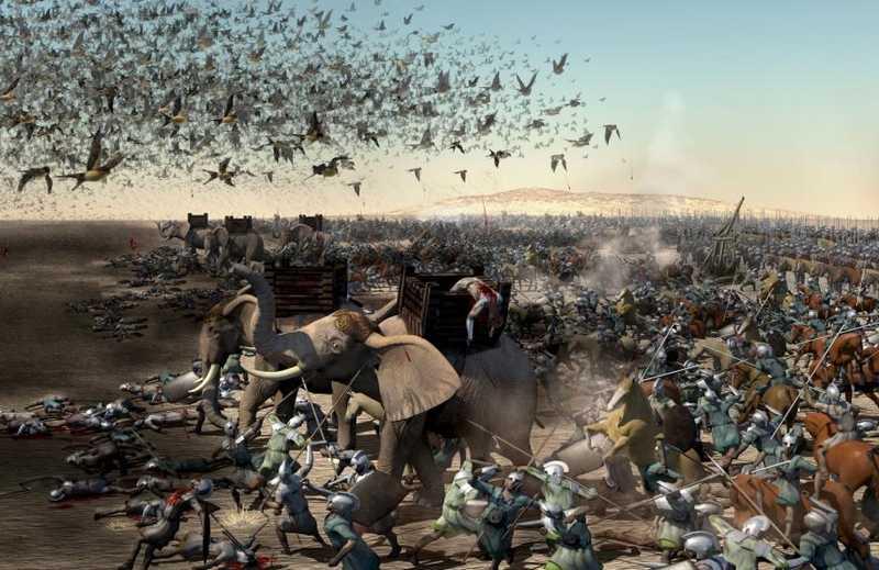 Kisah Burung Ababil Menyerang Pasukan Gajah (busy.org)