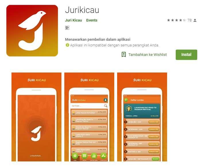 Aplikasi JuriKicau di Google Play Store (play.google.com)