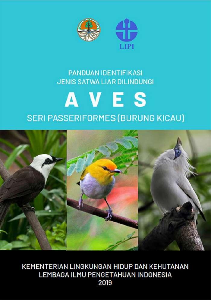 Sampul Buku Panduan Identifikasi Burung Dilindungi (menlhk.go.id)
