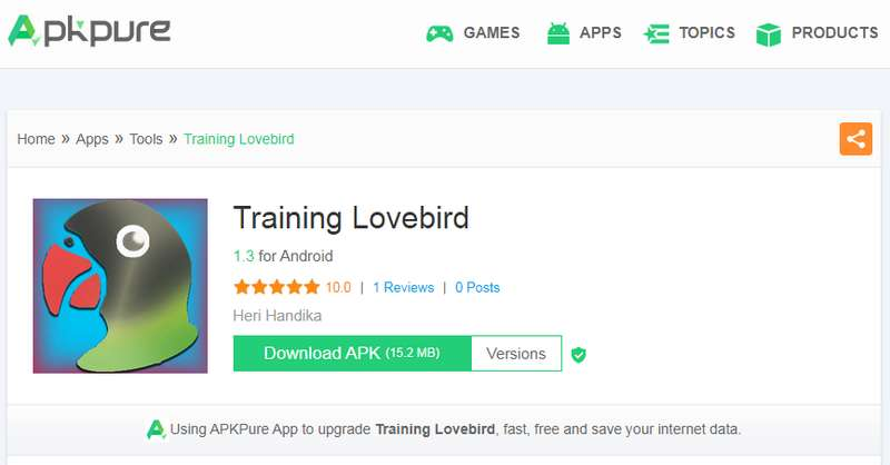 Download Aplikasi Training Lovebird di Apkpure.com (apkpure.com)
