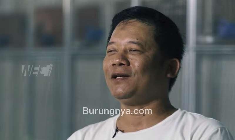 Agus Irianto Pemilik Merpati Garong (youtube.com)