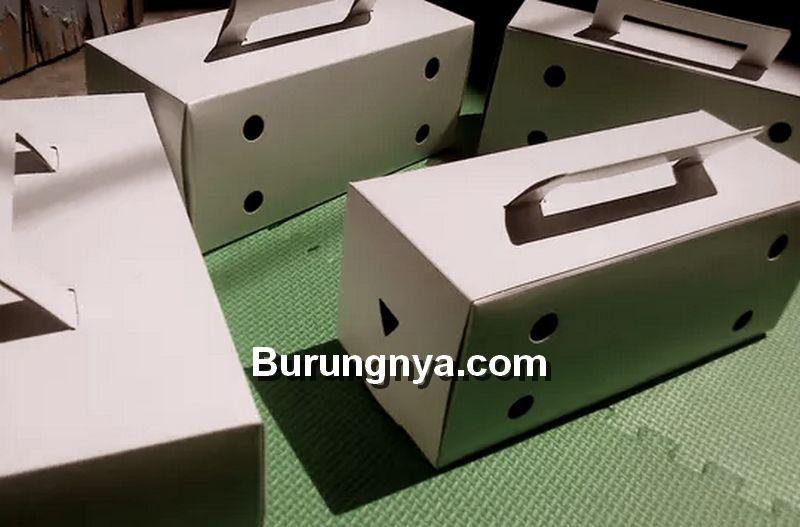 Cara Membuat Kotak Burung dari Kardus dan Skema Ukurannya (kaskus.co.id)