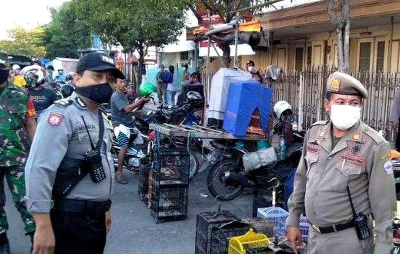 Pasar Burung Dibubarkan, Pedagang Disuruh Jualan Online (tribunnews.com)