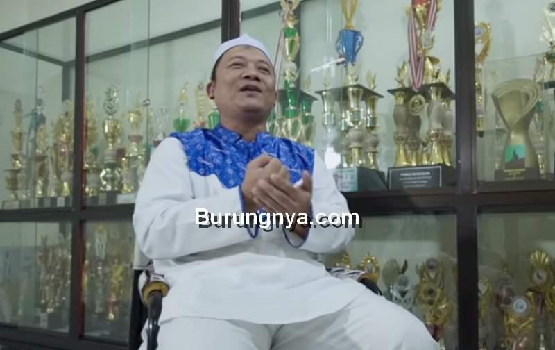 Haji Agus Irianto Pemilik Merpati Garong (youtube.com)