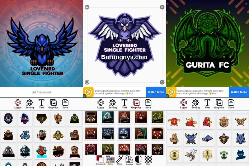 Cara Membuat Logo Burung di HP Android Paling Mudah (play.google.com