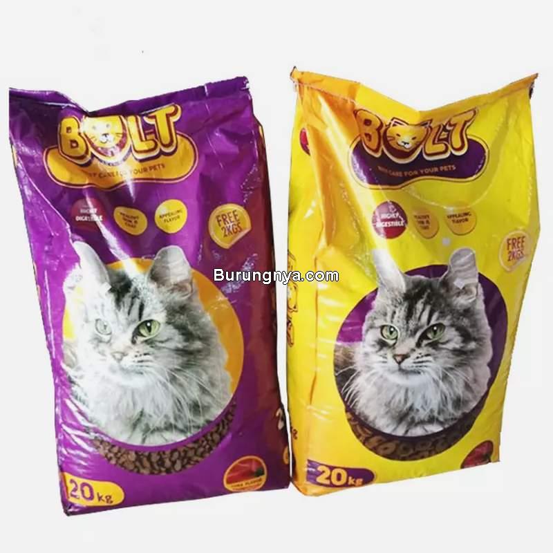 Kelebihan dan Kekurangan Makanan Kucing Bolt (jd.id)
