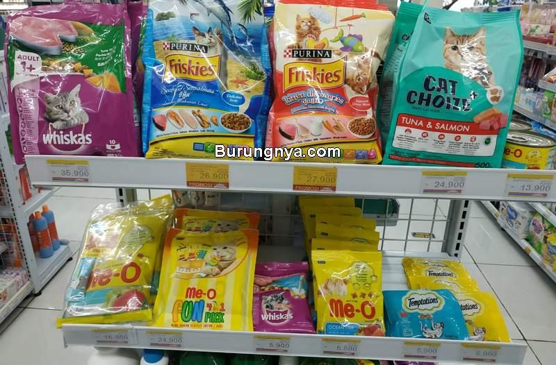 Makanan Kucing di Indomaret Terbaru (burungnya.com)