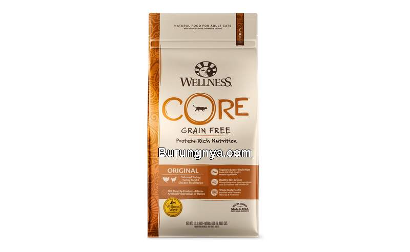 Makanan Kucing Premium Wellnes CORE (chewy.com)