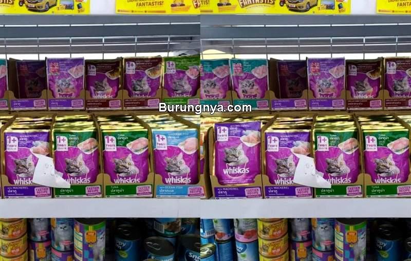 Harga Makanan Kucing di Alfamart (tokopedia.com)